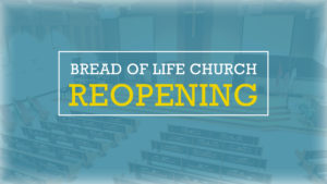 Church Ministry Update – Reopening