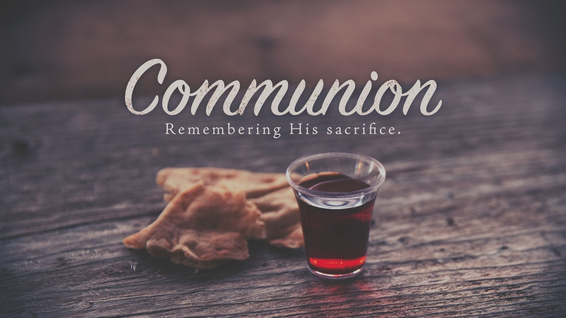 Communion (at Home)