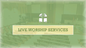 Church Ministry Update – Returning to Live Services
