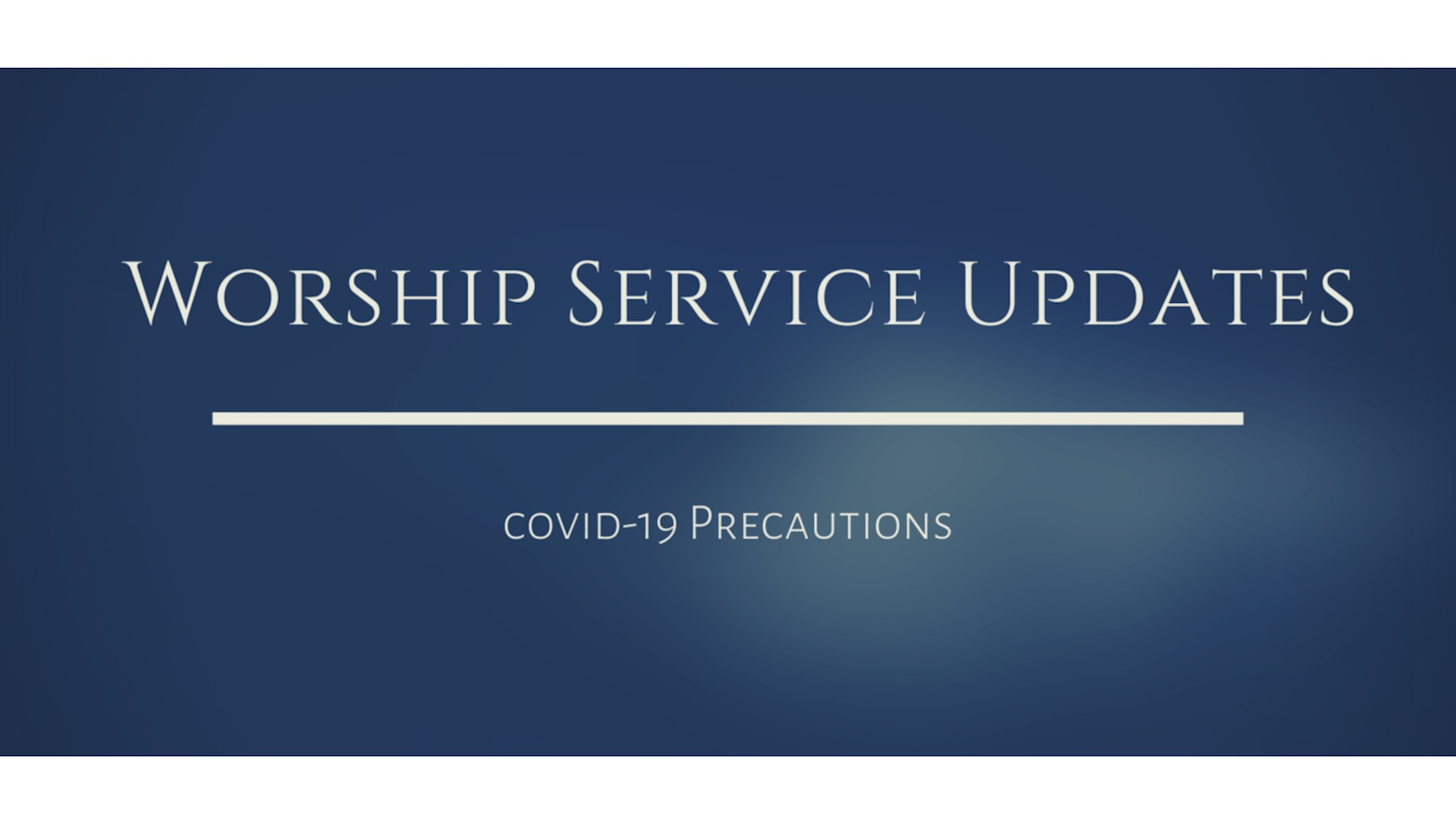 Read more about the article English Congregation Ministry Update—In-Person Worship