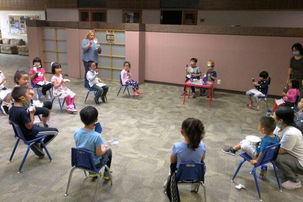 Preschool birthday party