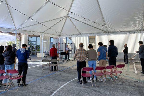 11:15 Tent Service